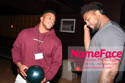 4th Annual Children Of The City Charity Bowl Saquon Barkley and RJ Mcintosh - NameFace Photo Agency New York City - hello@nameface.com - nameface.com - Photo by Daniela Kirsch