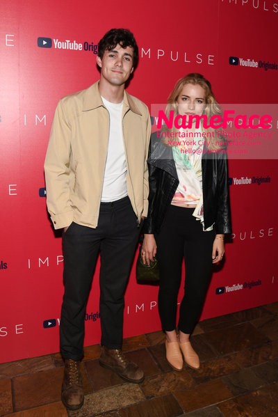Youtube with The Cinema Society host a screening of Impulse - Arrivals Jonah Hauer-King and Willa Fitzgerald - NameFace Photo Agency New York City - hello@nameface.com - nameface.com - Photo by Daniela Kirsch
