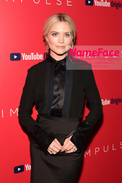 Youtube with The Cinema Society host a screening of Impulse - Arrivals Maddie Hasson - NameFace Photo Agency New York City - hello@nameface.com - nameface.com - Photo by Daniela Kirsch