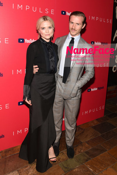 Youtube with The Cinema Society host a screening of Impulse - Arrivals Maddie Hasson and Julian Brink - NameFace Photo Agency New York City - hello@nameface.com - nameface.com - Photo by Daniela Kirsch