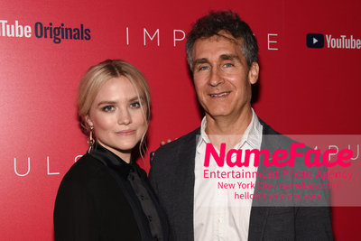 Youtube with The Cinema Society host a screening of Impulse - Arrivals Maddie Hasson and Doug Liman - NameFace Photo Agency New York City - hello@nameface.com - nameface.com - Photo by Daniela Kirsch