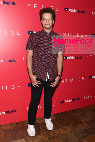 Youtube with The Cinema Society host a screening of Impulse - Arrivals Damon Gillespie - NameFace Photo Agency New York City - hello@nameface.com - nameface.com - Photo by Daniela Kirsch