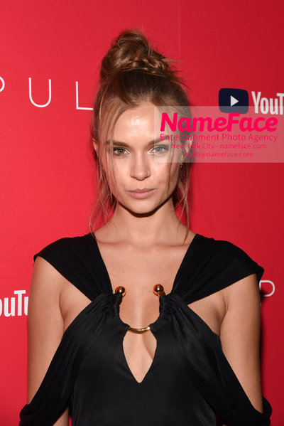Youtube with The Cinema Society host a screening of Impulse - Arrivals Josephine Skriver - NameFace Photo Agency New York City - hello@nameface.com - nameface.com - Photo by Daniela Kirsch