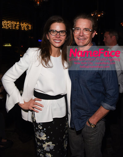 Youtube with The Cinema Society host a screening of Impulse - After Party Desiree Gruber and Kyle MacLachlan - NameFace Photo Agency New York City - hello@nameface.com - nameface.com - Photo by Daniela Kirsch