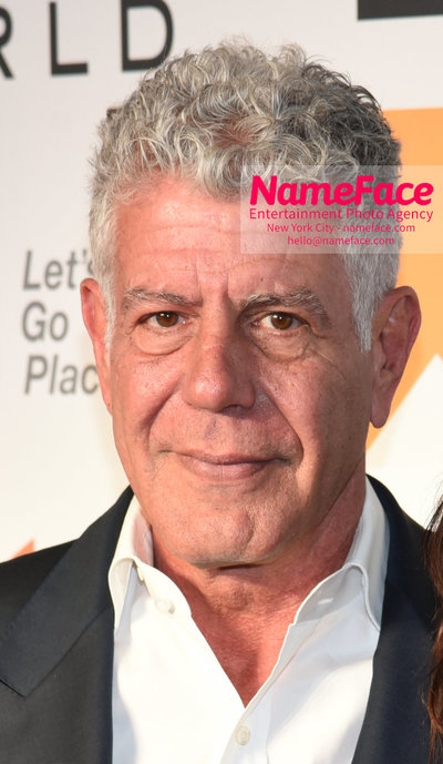 9th Annual Women in the World Summit, Arrivals Anthony Bourdain - NameFace Photo Agency New York City - hello@nameface.com - nameface.com - Photo by Daniela Kirsch