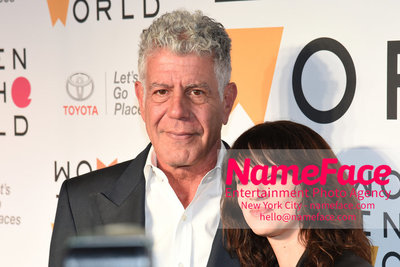 9th Annual Women in the World Summit, Arrivals Anthony Bourdain and Asia Argento - NameFace Photo Agency New York City - hello@nameface.com - nameface.com - Photo by Daniela Kirsch