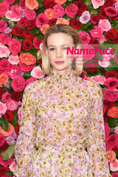 Tony Awards 2018 - Arrivals Carey Mulligan - NameFace Photo Agency New York City - hello@nameface.com - nameface.com - Photo by Daniela Kirsch