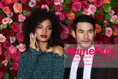 Tony Awards 2018 - Arrivals Indya Moore and Joseph Altuzarra - NameFace Photo Agency New York City - hello@nameface.com - nameface.com - Photo by Daniela Kirsch