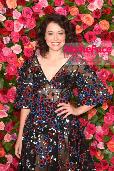 Tony Awards 2018 - Arrivals Tatiana Maslany - NameFace Photo Agency New York City - hello@nameface.com - nameface.com - Photo by Daniela Kirsch
