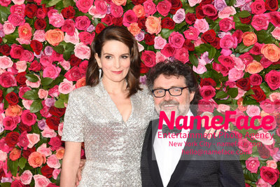 Tony Awards 2018 - Arrivals Tina Fey and Jeff Richmond - NameFace Photo Agency New York City - hello@nameface.com - nameface.com - Photo by Daniela Kirsch