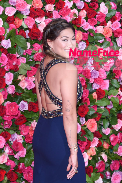 Tony Awards 2018 - Arrivals Jenna Ushkowitz - NameFace Photo Agency New York City - hello@nameface.com - nameface.com - Photo by Daniela Kirsch