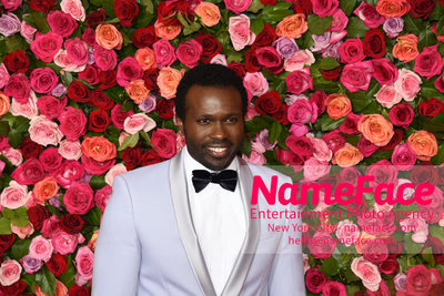 Tony Awards 2018 - Arrivals Joshua Henry - NameFace Photo Agency New York City - hello@nameface.com - nameface.com - Photo by Daniela Kirsch