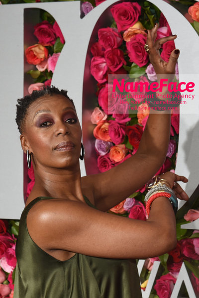 Tony Awards 2018 - Arrivals Noma Dumezweni - NameFace Photo Agency New York City - hello@nameface.com - nameface.com - Photo by Daniela Kirsch