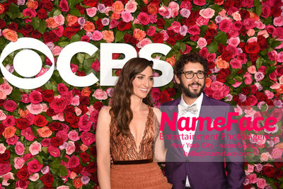 Tony Awards 2018 - Arrivals Sara Bareilles and Josh Groban - NameFace Photo Agency New York City - hello@nameface.com - nameface.com - Photo by Daniela Kirsch