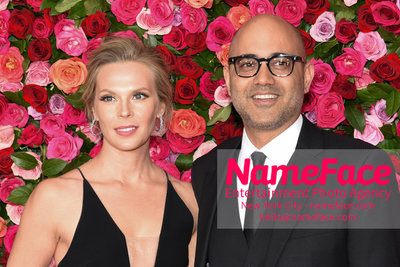 Tony Awards 2018 - Arrivals Annika Boras and Ayad Akhtar - NameFace Photo Agency New York City - hello@nameface.com - nameface.com - Photo by Daniela Kirsch