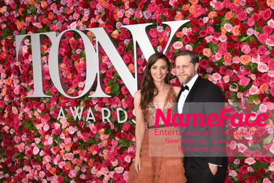 Tony Awards 2018 - Arrivals Sara Bareilles and Joe Tippett - NameFace Photo Agency New York City - hello@nameface.com - nameface.com - Photo by Daniela Kirsch
