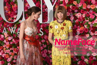 Tony Awards 2018 - Arrivals Anna Wintour - NameFace Photo Agency New York City - hello@nameface.com - nameface.com - Photo by Daniela Kirsch