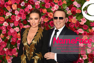 Tony Awards 2018 - Arrivals Thalia and Tommy Mottola - NameFace Photo Agency New York City - hello@nameface.com - nameface.com - Photo by Daniela Kirsch