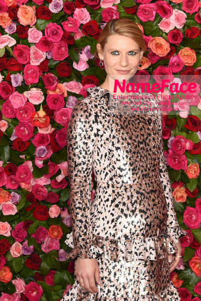 Tony Awards 2018 - Arrivals Claire Danes - NameFace Photo Agency New York City - hello@nameface.com - nameface.com - Photo by Daniela Kirsch