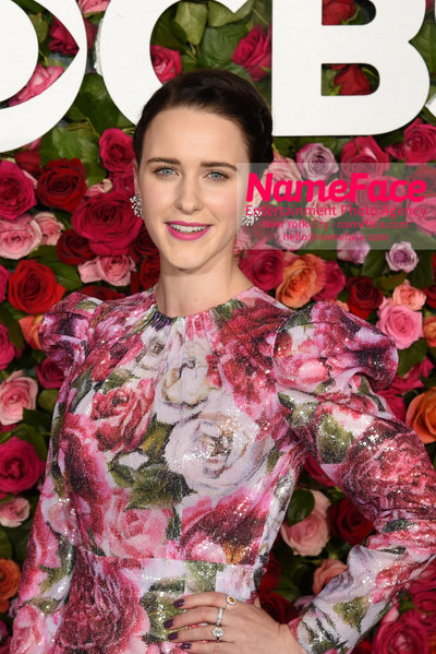 Tony Awards 2018 - Arrivals Rachel Brosnahan - NameFace Photo Agency New York City - hello@nameface.com - nameface.com - Photo by Daniela Kirsch