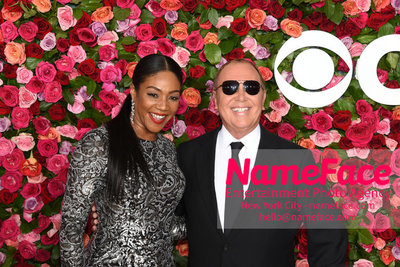 Tony Awards 2018 - Arrivals Tiffany Haddish and Michael Kors - NameFace Photo Agency New York City - hello@nameface.com - nameface.com - Photo by Daniela Kirsch