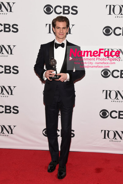 Tony Awards 2018 - Winners Andrew Garfield - NameFace Photo Agency New York City - hello@nameface.com - nameface.com - Photo by Daniela Kirsch