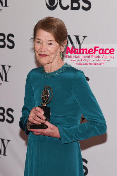Tony Awards 2018 - Winners Glenda Jackson - NameFace Photo Agency New York City - hello@nameface.com - nameface.com - Photo by Daniela Kirsch