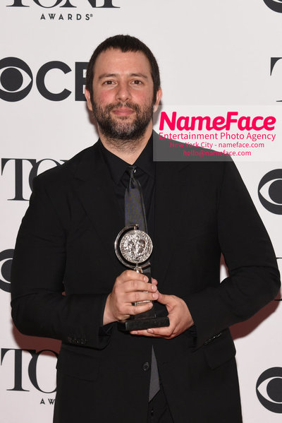 Tony Awards 2018 - Winners Itamar Moses - NameFace Photo Agency New York City - hello@nameface.com - nameface.com - Photo by Daniela Kirsch