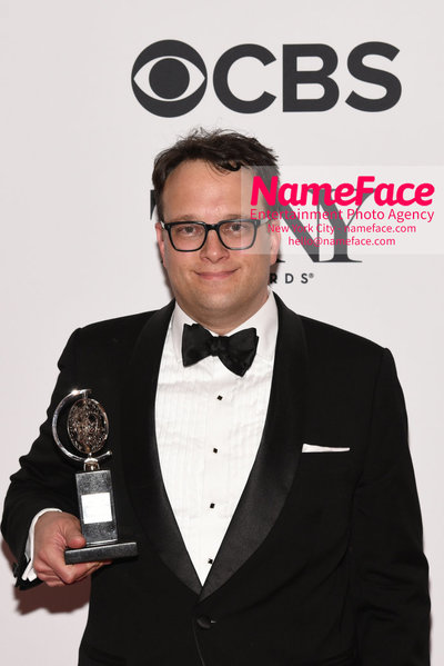 Tony Awards 2018 - Winners Tyler Micoleau - NameFace Photo Agency New York City - hello@nameface.com - nameface.com - Photo by Daniela Kirsch