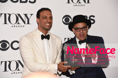 Tony Awards 2018 - Winners Ariel Stachel and David Yazbek - NameFace Photo Agency New York City - hello@nameface.com - nameface.com - Photo by Daniela Kirsch