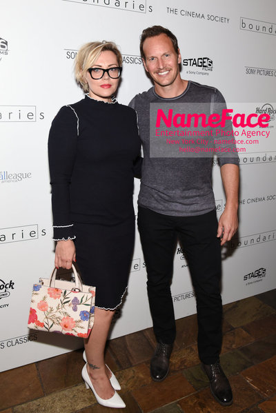 The Cinema Society with Hard Rock Hotel & Casino Atlantic City host a screening of Sony Pictures Classics Boundaries Guest and Patrick Wilson - NameFace Photo Agency New York City - hello@nameface.com - nameface.com - Photo by Daniela Kirsch