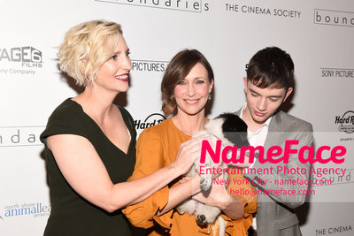 The Cinema Society with Hard Rock Hotel & Casino Atlantic City host a screening of Sony Pictures Classics Boundaries Shana Feste, Vera Farmiga and Lewis MacDougall - NameFace Photo Agency New York City - hello@nameface.com - nameface.com - Photo by Daniela Kirsch