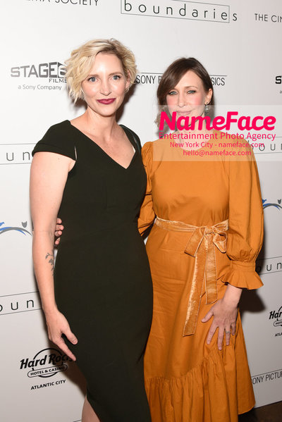The Cinema Society with Hard Rock Hotel & Casino Atlantic City host a screening of Sony Pictures Classics Boundaries Shana Feste and Vera Farmiga - NameFace Photo Agency New York City - hello@nameface.com - nameface.com - Photo by Daniela Kirsch