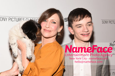The Cinema Society with Hard Rock Hotel & Casino Atlantic City host a screening of Sony Pictures Classics Boundaries Vera Farmiga and Lewis MacDougall - NameFace Photo Agency New York City - hello@nameface.com - nameface.com - Photo by Daniela Kirsch