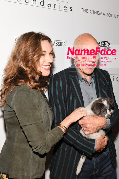 The Cinema Society with Hard Rock Hotel & Casino Atlantic City host a screening of Sony Pictures Classics Boundaries Sunny Ozell and Patrick Stewart - NameFace Photo Agency New York City - hello@nameface.com - nameface.com - Photo by Daniela Kirsch