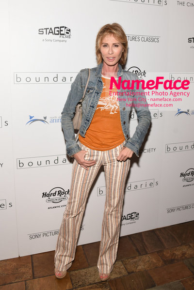 The Cinema Society with Hard Rock Hotel & Casino Atlantic City host a screening of Sony Pictures Classics Boundaries Carole Radziwill - NameFace Photo Agency New York City - hello@nameface.com - nameface.com - Photo by Daniela Kirsch