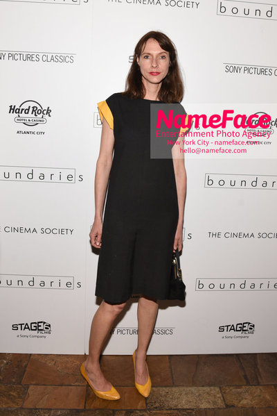 The Cinema Society with Hard Rock Hotel & Casino Atlantic City host a screening of Sony Pictures Classics Boundaries Dolly Wells - NameFace Photo Agency New York City - hello@nameface.com - nameface.com - Photo by Daniela Kirsch