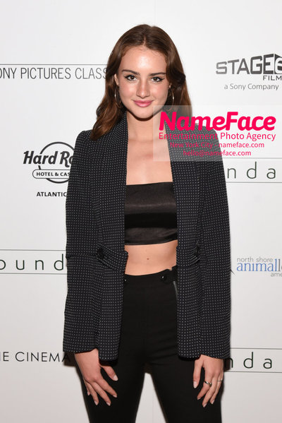 The Cinema Society with Hard Rock Hotel & Casino Atlantic City host a screening of Sony Pictures Classics Boundaries Grace Van Patten - NameFace Photo Agency New York City - hello@nameface.com - nameface.com - Photo by Daniela Kirsch