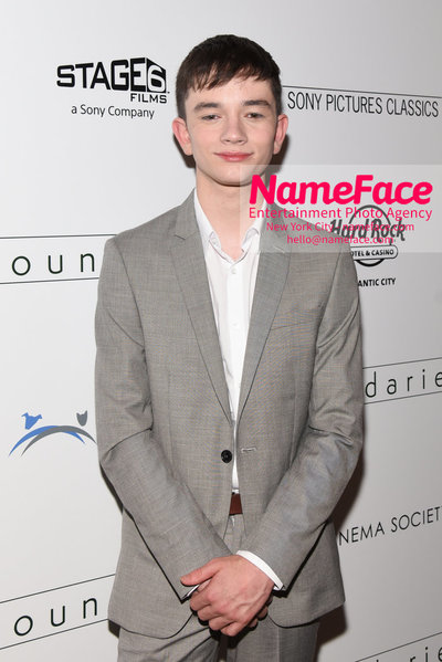 The Cinema Society with Hard Rock Hotel & Casino Atlantic City host a screening of Sony Pictures Classics Boundaries Lewis MacDougall - NameFace Photo Agency New York City - hello@nameface.com - nameface.com - Photo by Daniela Kirsch