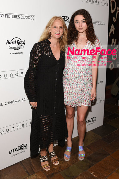 The Cinema Society with Hard Rock Hotel & Casino Atlantic City host a screening of Sony Pictures Classics Boundaries Nanette Lepore and Violet Savage - NameFace Photo Agency New York City - hello@nameface.com - nameface.com - Photo by Daniela Kirsch