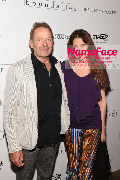 The Cinema Society with Hard Rock Hotel & Casino Atlantic City host a screening of Sony Pictures Classics Boundaries Simon Kirke and Maria Figueredo - NameFace Photo Agency New York City - hello@nameface.com - nameface.com - Photo by Daniela Kirsch