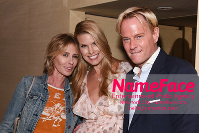 The Cinema Society with Hard Rock Hotel & Casino Atlantic City host a screening of Sony Pictures Classics Boundaries - After Party Carole Radziwill, Beth Ostrosky Stern and Daniel Benedict - NameFace Photo Agency New York City - hello@nameface.com - nameface.com - Photo by Daniela Kirsch
