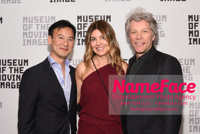 The Museum Of The Moving Image Annual Benefit Dexter Goei, Guest and Jon Bon Jovi - NameFace Photo Agency New York City - hello@nameface.com - nameface.com - Photo by Daniela Kirsch