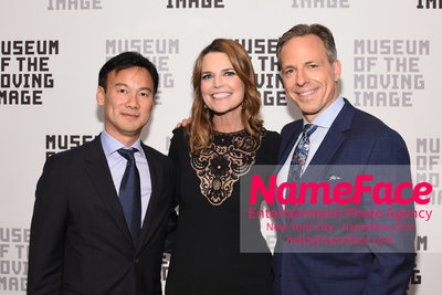 The Museum Of The Moving Image Annual Benefit Dexter Goei, Savannah Guthrie and Jake Tapper - NameFace Photo Agency New York City - hello@nameface.com - nameface.com - Photo by Daniela Kirsch