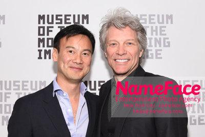 The Museum Of The Moving Image Annual Benefit Dexter Goei and Jon Bon Jovi - NameFace Photo Agency New York City - hello@nameface.com - nameface.com - Photo by Daniela Kirsch