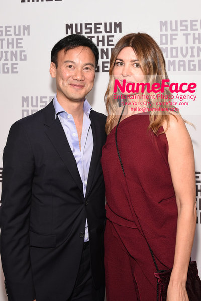 The Museum Of The Moving Image Annual Benefit Dexter Goei and wife - NameFace Photo Agency New York City - hello@nameface.com - nameface.com - Photo by Daniela Kirsch