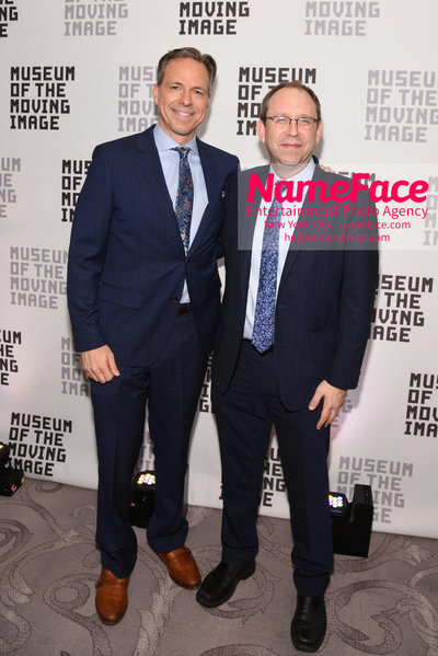 The Museum Of The Moving Image Annual Benefit Jake Tapper and Carl Goodman - NameFace Photo Agency New York City - hello@nameface.com - nameface.com - Photo by Daniela Kirsch