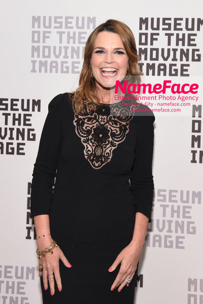 The Museum Of The Moving Image Annual Benefit Savannah Guthrie - NameFace Photo Agency New York City - hello@nameface.com - nameface.com - Photo by Daniela Kirsch