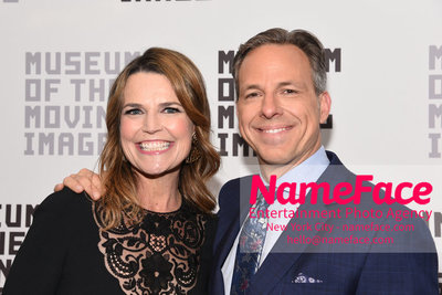 The Museum Of The Moving Image Annual Benefit Savannah Guthrie and Jake Tapper - NameFace Photo Agency New York City - hello@nameface.com - nameface.com - Photo by Daniela Kirsch
