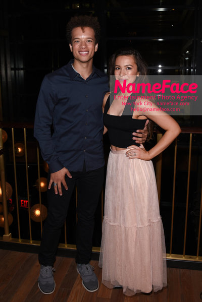 MarVista Entertainment & Parkside Pictures With The Cinema Society Host A Screening Of The Year Of Spectacular Men - After Party Damon Gillespie and Grace Aki - NameFace Photo Agency New York City - hello@nameface.com - nameface.com - Photo by Daniela Kirsch